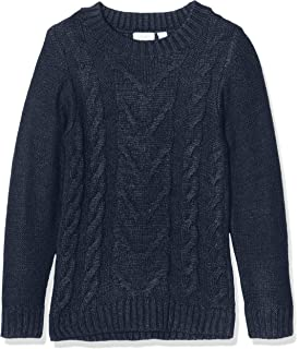 Name It Nmfnandie LS Knit Camp Felpa Bambina