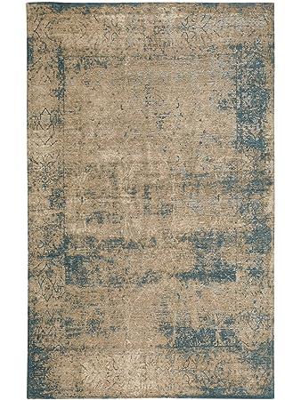 Pflegeleichter teppich  benuta Flachgewebe Teppich Frencie Baroque Beige 80x165 cm ...