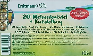 Erdtmanns 20 Meisenknödel ohne Netz im Polybeutel