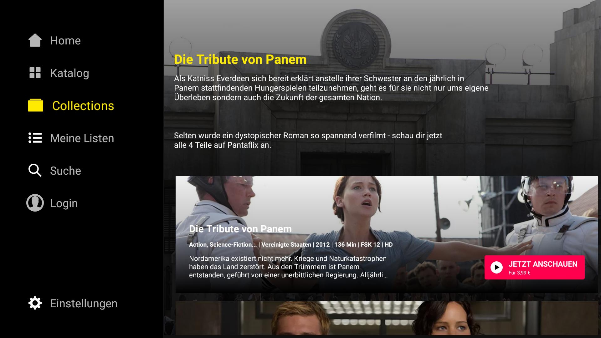 Filme Schauen App