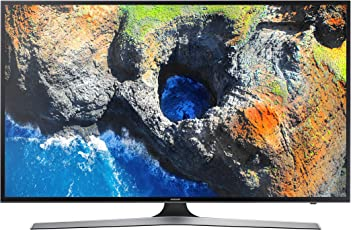 Samsung MU6120 TV LED 4K, Smart, Display UHD da 58'', Nero