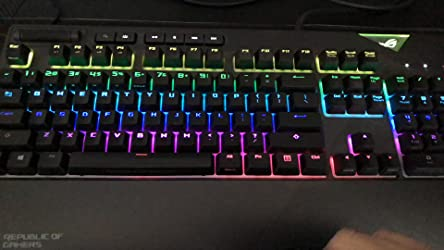 ASUS Xa01 ROG Strix FLARE (Cherry MX Speed Silver) Call of ...