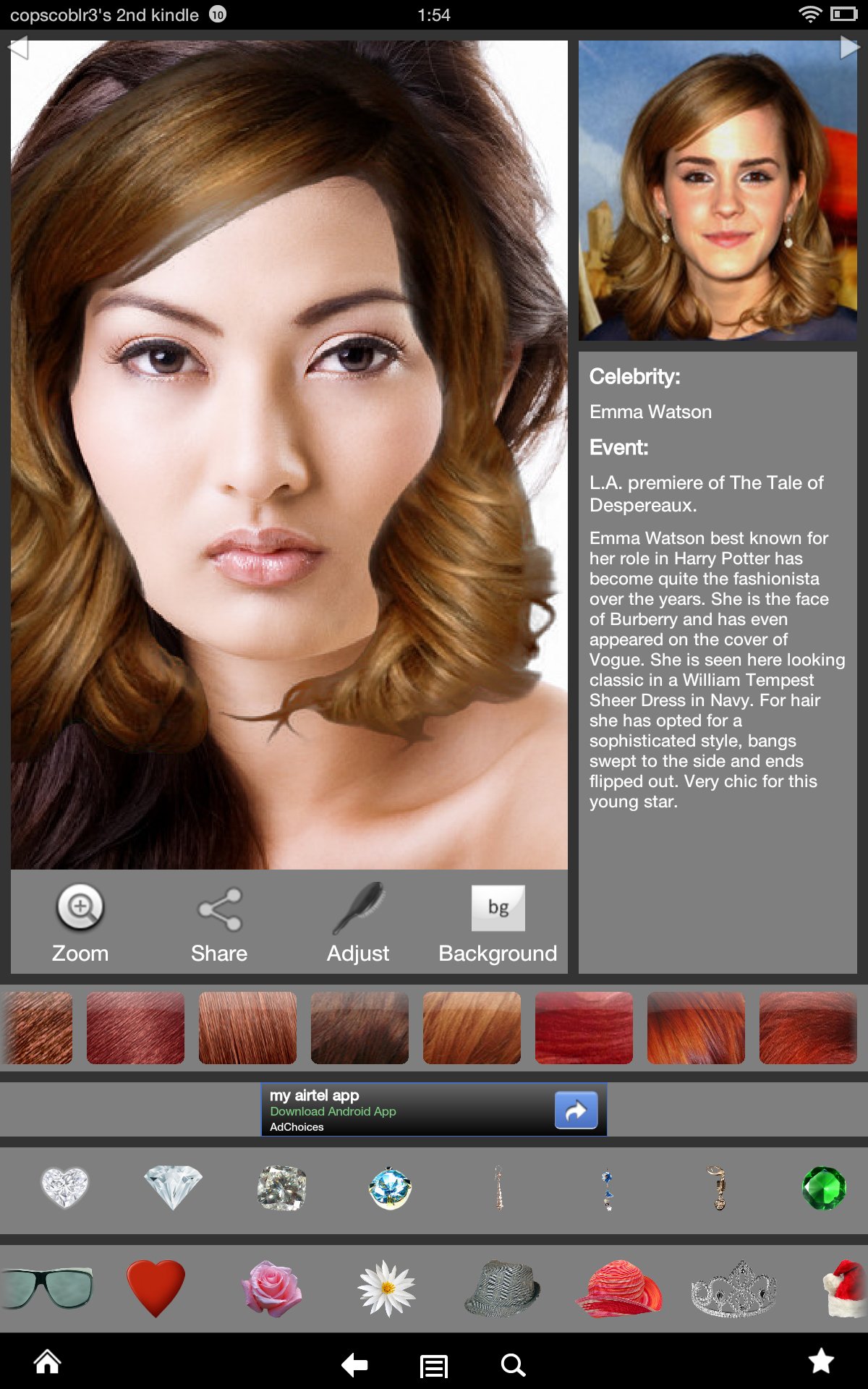 Ultimate Hairstyle Try-On: Amazon.de: Apps für Android