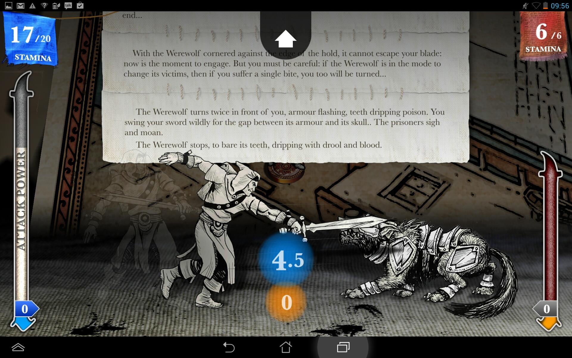 Sorcery! 2 Capture d'écran