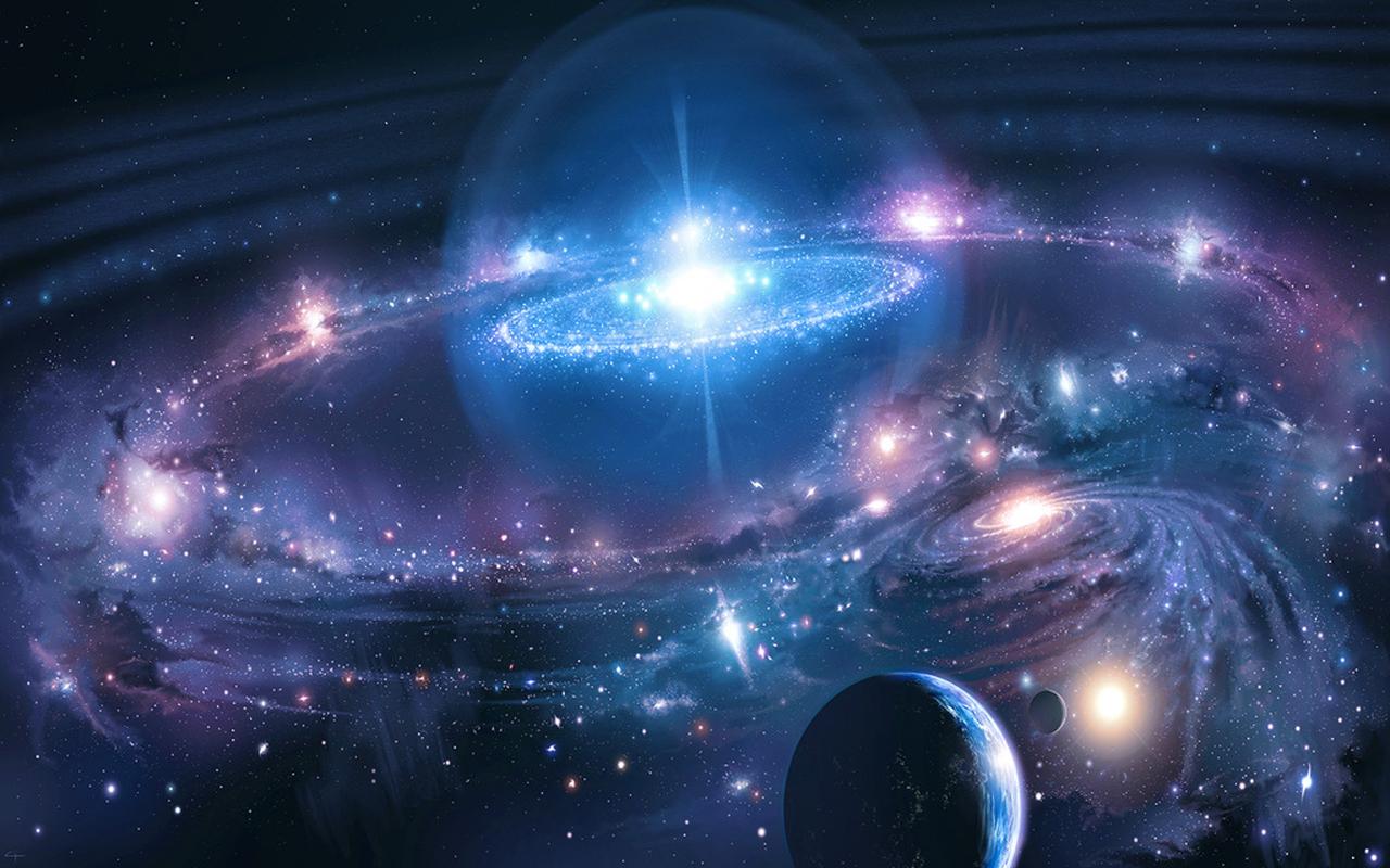 3D Universe Space Wallpaper: Amazon.de: Apps für Android