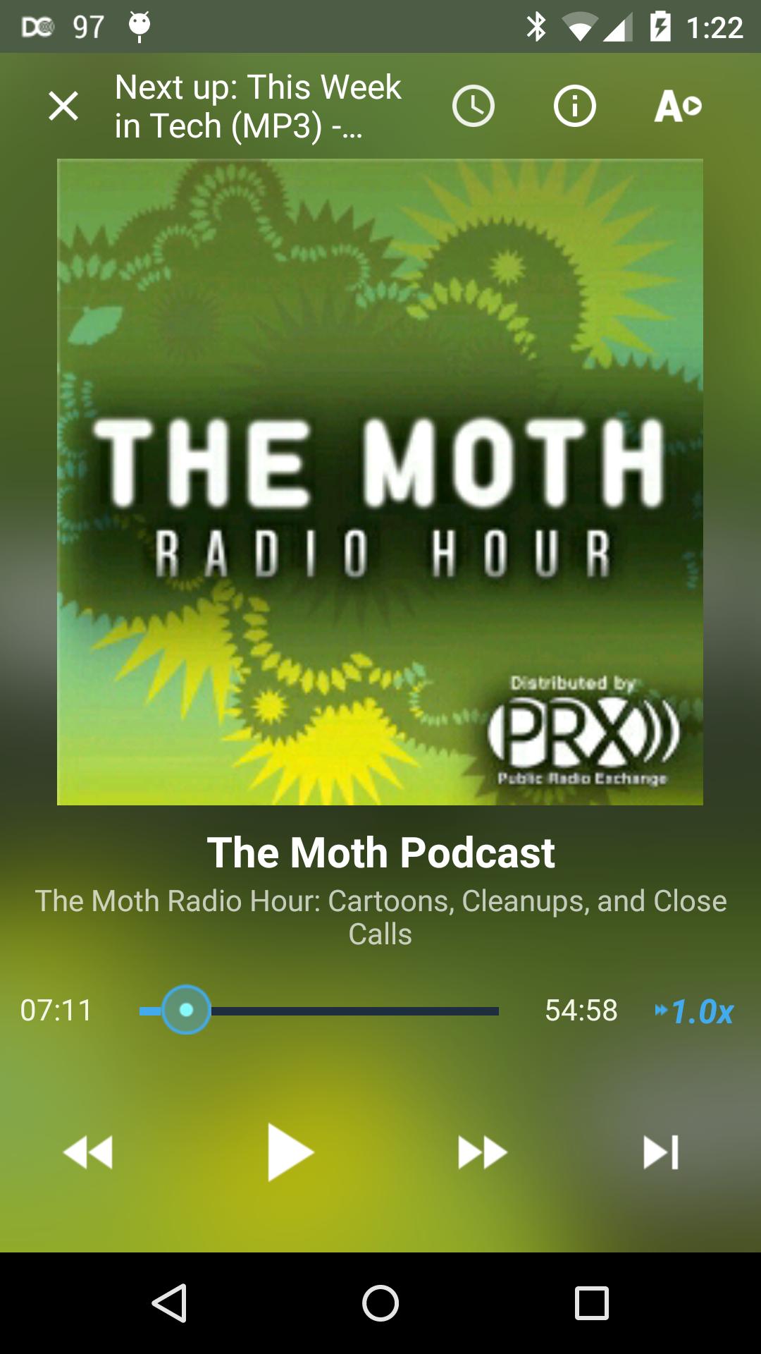 DoggCatcher Podcast Player Capture d'écran
