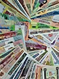 NOVELTY COLLECTIONS-60 World Currency notes from Minimum 30 Countries.