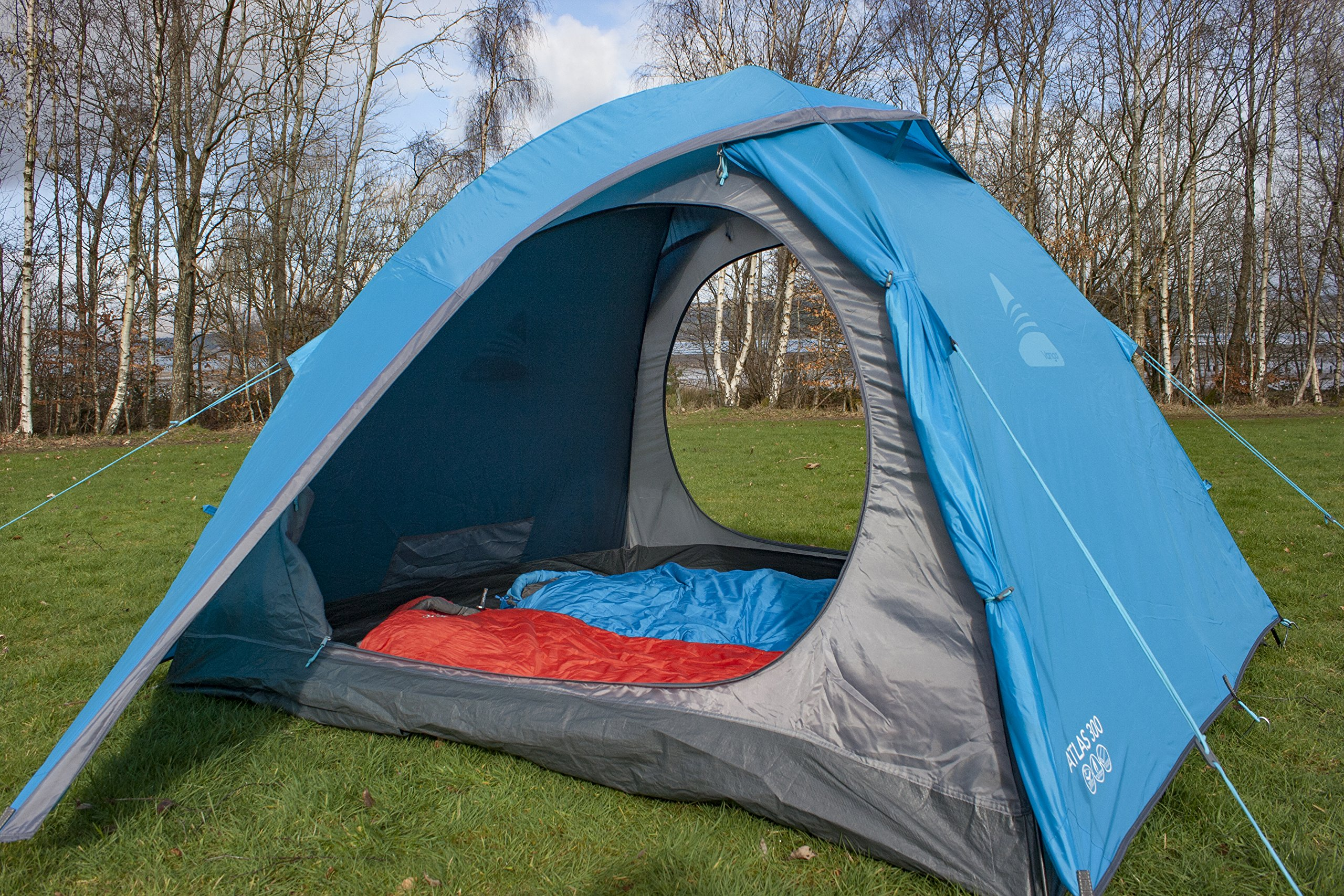 Vango Waterproof Atlas 300 Unisex Outdoor Dome Tent 4