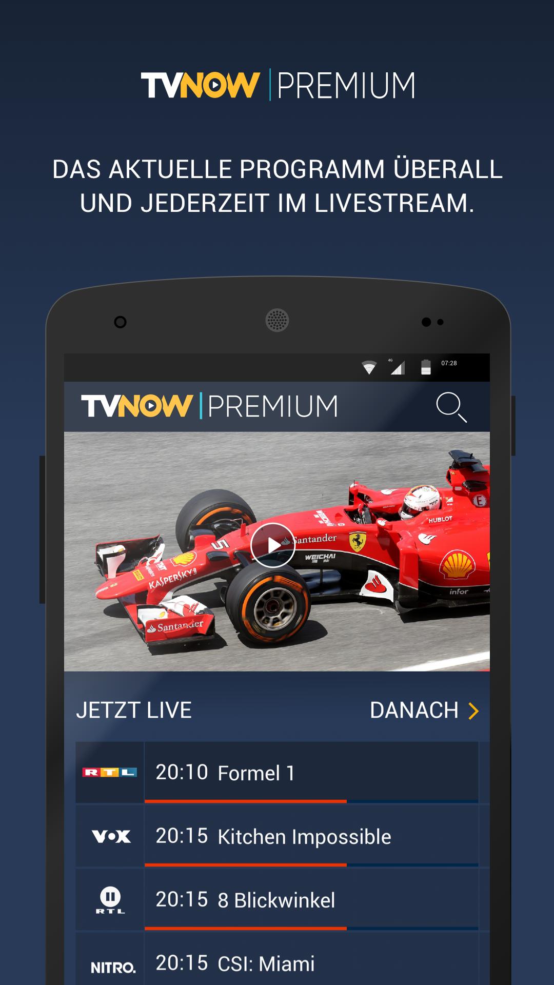 TVNOW PREMIUM: Amazon.de: Apps für Android