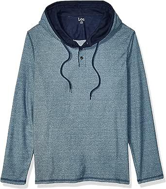 Lee Uniforms Men's Long Sleeve Hoodie Sweatshirt Hooded