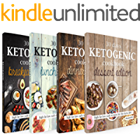 The Big Ketogenic Cookbook: Delicious & Nutritious Keto Diet Recipes: High Fat Low Carb Cookbook for Breakfast, Lunch…