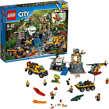 Lego City - Le site d'Exploration de la Jungle - 60161 - Jeu de Construction