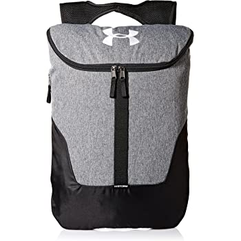 7e48ef75e8 Under Armour Unisex s Expandable Sackpack Graphite     White (041)