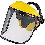 Oregon Gezichtsbescherming en gehoorbescherming Q515061, gezichtsmasker met netvizier, geïntegreerde gehoorbescherming en vel
