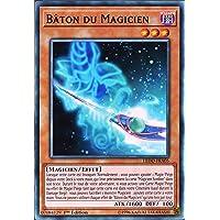Carte YU-GI-Oh LEDD-FRA05 Bâton du Magicien Commune Neuf FR