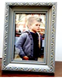 "Photo Frame || Antique+Golden Wood || Photo Size: 6"" x 4"" Best for Bedroom Side Table, Living Room and Home Décor by…"