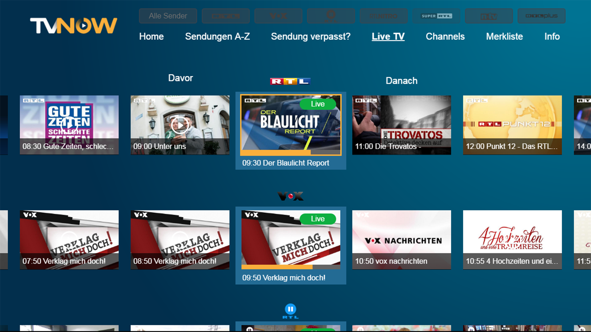 Tv now rtl mediathek ab sofort f r fire tv verf gbar for Spiegel tv rtl mediathek