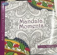 ADULT COLOURNG BOOK - MANDALA MOMENTS