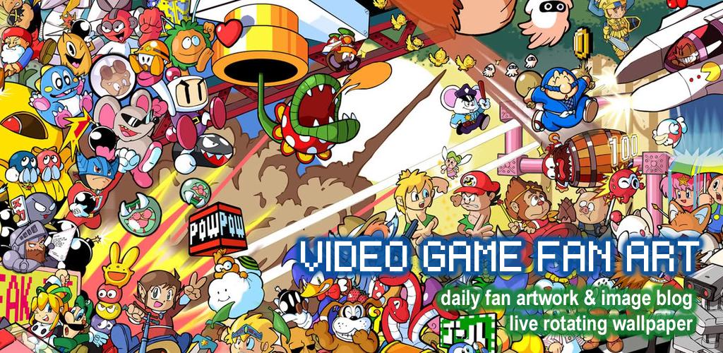Video Game Daily Fan Art HD Wallpapers: Amazon.de: Apps