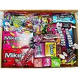 35 American Sweets Box Candy Gift USA Candies - Laffy Taffy / Mike N IKE / Warheads / Airheads