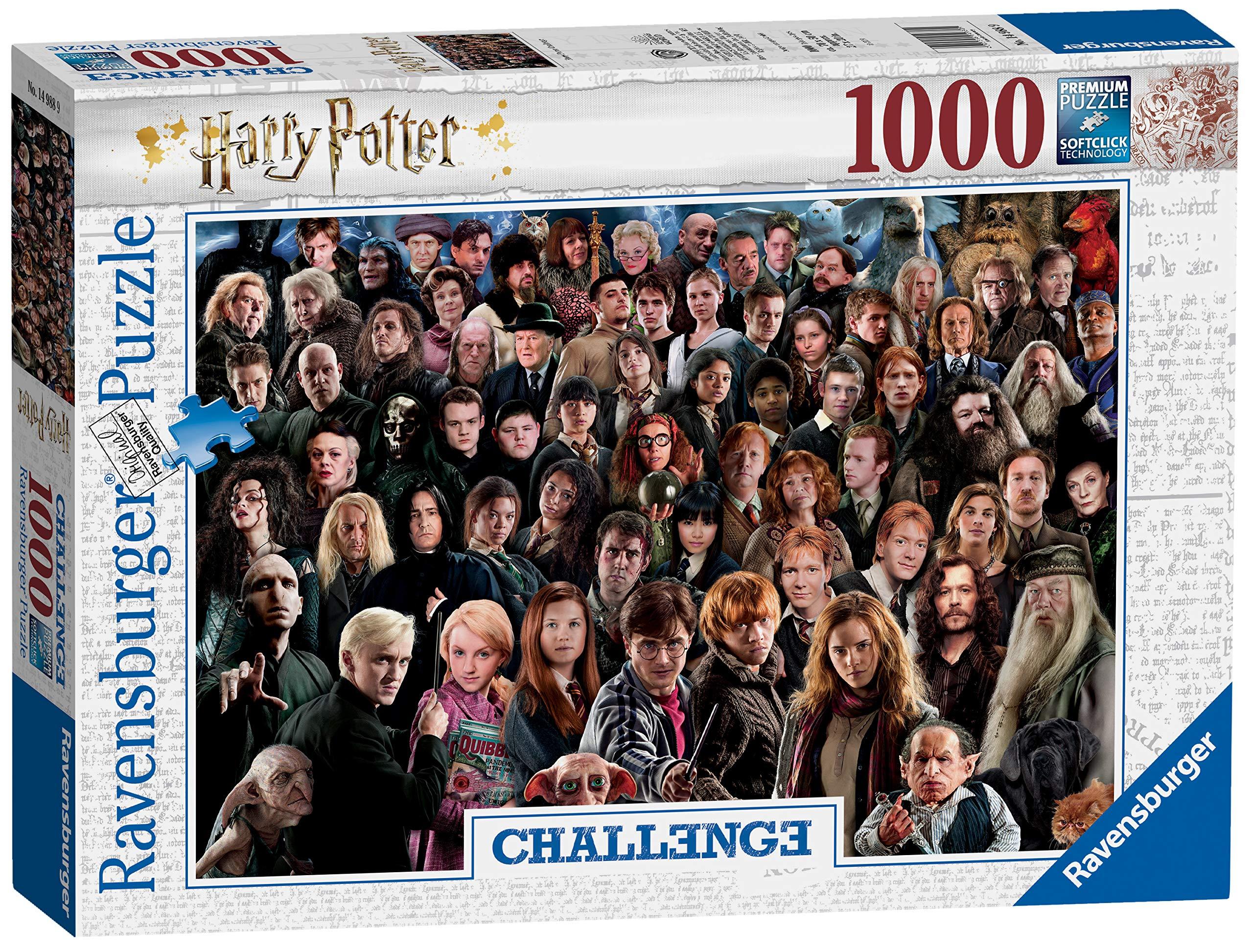 Ravensburger-14988-Harry-Potter-Challenge-Puzzle-1000-Teile-Mehrfarbig Ravensburger Puzzle 14988 – Harry Potter – 1000 Teile -