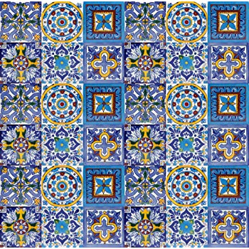 Armando - Piastrelle Messicane Talavera | 30 piezzi 10x10 cm ...