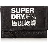 Superdry Herren Tri-fold Brieftasche Schwarz