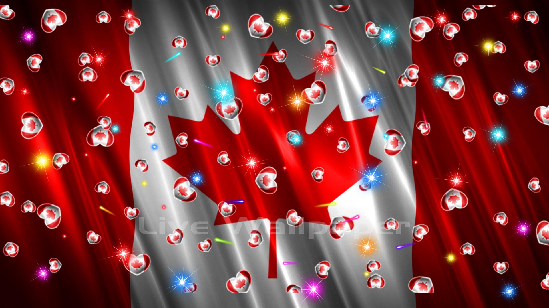 Canada Flag Heart - 7