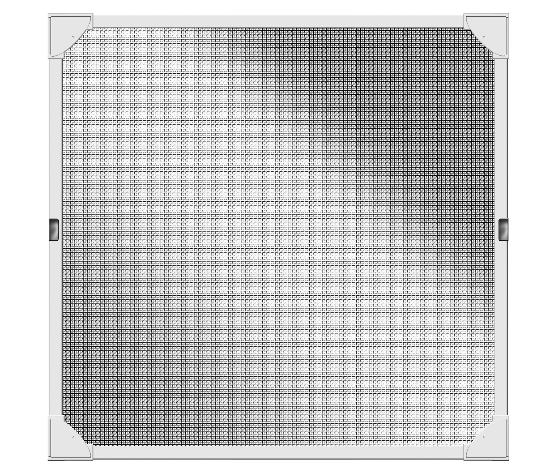 Schellenberg 50742protezione dagli insetti della finestra, Riflessione zanzariera con cornice magn