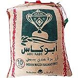 ارز بسمتي من ابو كاس، 10 كغم، عبوة مكونة من قطعة واحدة