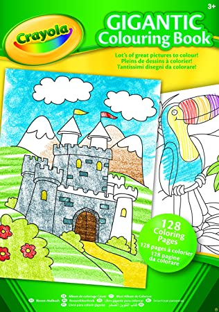 Crayola A4 Gigantic Colouring Book: Amazon.co.uk: Toys & Games