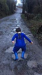 Kinder Angeln Stiefel 27 HISEA Kinderwathose Schnalle Nexus strapazierf/ähige Hosentr/äger 38 EU Jugendliche Kinder Brust Wathose verstellbare Taille