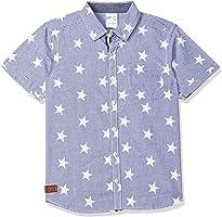 Max Boy's Regular fit Shirt(Colors & Print May Vary)