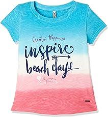Lee Cooper Girls' Floral Regular Fit T-Shirt