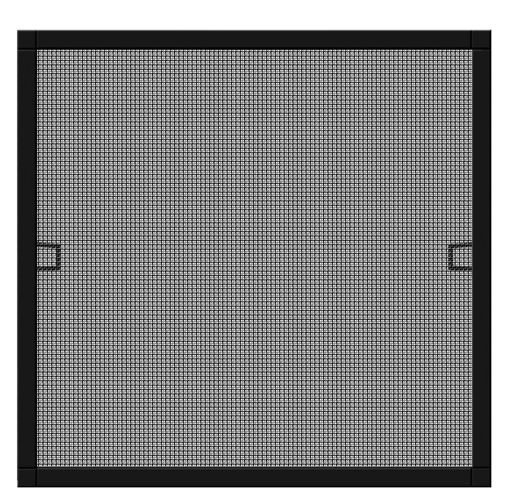 Schellenberg 70033protezione dagli insetti della finestra Plus, Zanzariera con cornice–130x 150