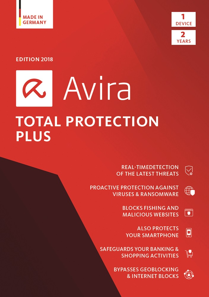 Avira Total Protection Plus 2018...