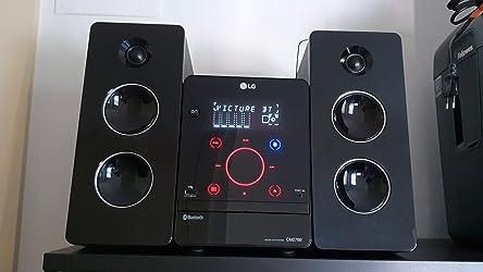 LG CM2760 - Microcadena con 160W de potencia (Bluetooth, USB), color negro: BLOCK: Amazon.es: Electrónica