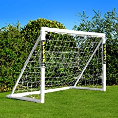 Net World Sports FORZA - 1,8 x 1,2 m wetterfestes Fußballtor. Neu: auch mit abnehmbarer Torwand bestellbar