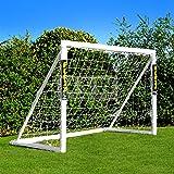 Net World Sports Forza - 1,8 x 1,2 m wetterfestes Fußballtor Abnehmbarer Torwand bestellbar