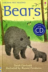 Bears (Usborne First Reading) (First Reading Level 2 CD Packs) Hardcover