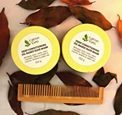 Earthy Sapo's Deep Conditioning Oil Based Hair Mask (100g)