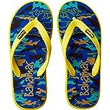 BAHAMAS Men's Blue-Yellow Flip-Flop-6 UK (BH0033G)