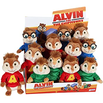 TY Alvin et les Chipmunks ~ Eleanor Peluche 15cm: Amazon