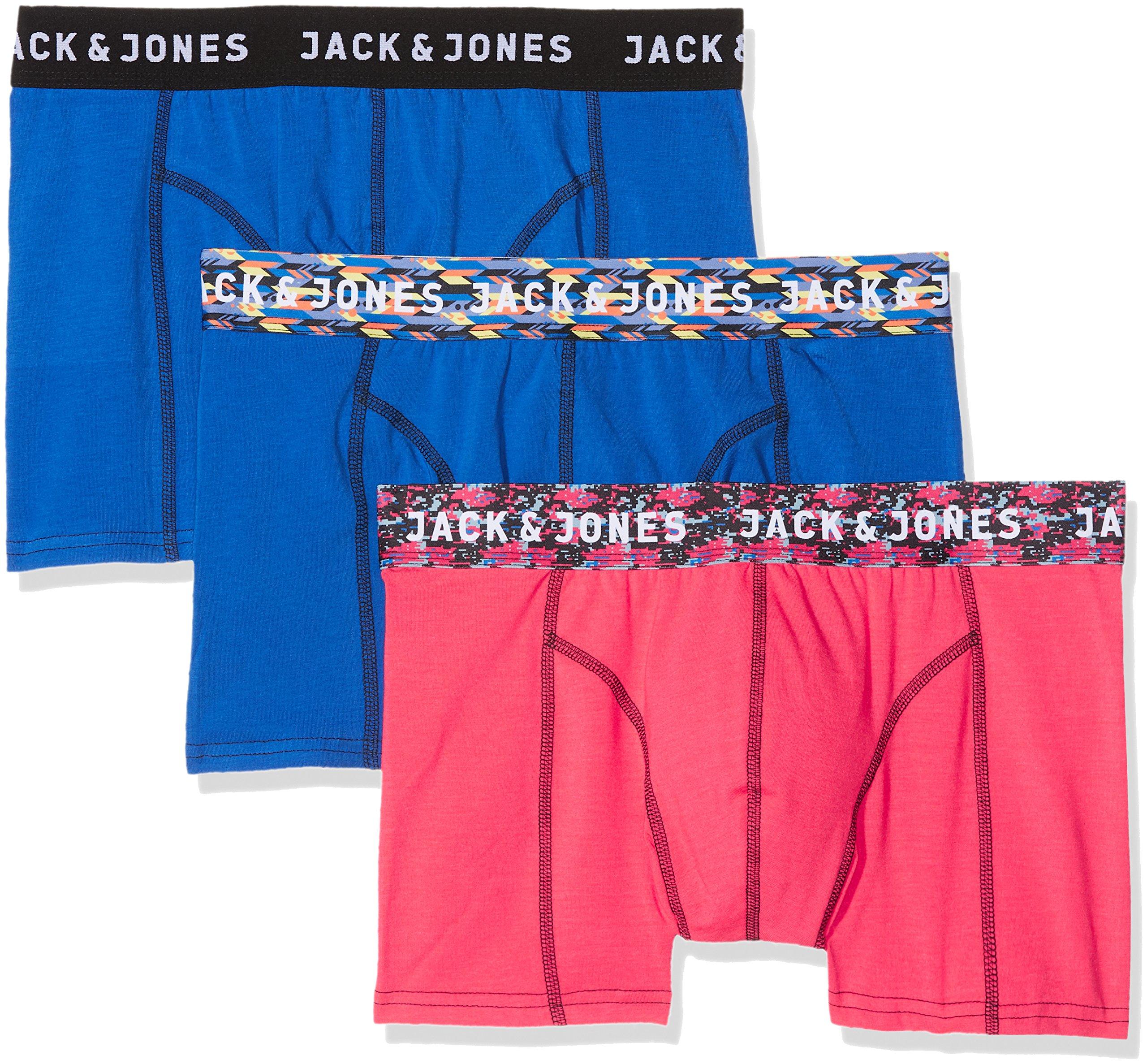 JACK & JONES Bóxer (Pack de 3 para Hombre