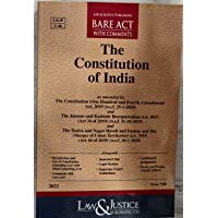 The Constitution Of India-(Bare Act With Comments) Edition-2021