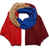 s.Oliver Women's 39709912879 Scarf, Blue (Blue Stripes 56g2), One size