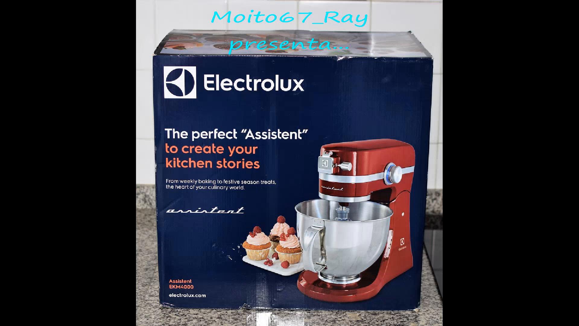 Amazon.es:Opiniones de clientes: Electrolux Assistent EKM4100 - Robot de cocina, color blanco
