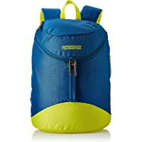 American Tourister Scamp 44 cms Blue/Yellow Casual Backpack (FI4 (0) 01 001)
