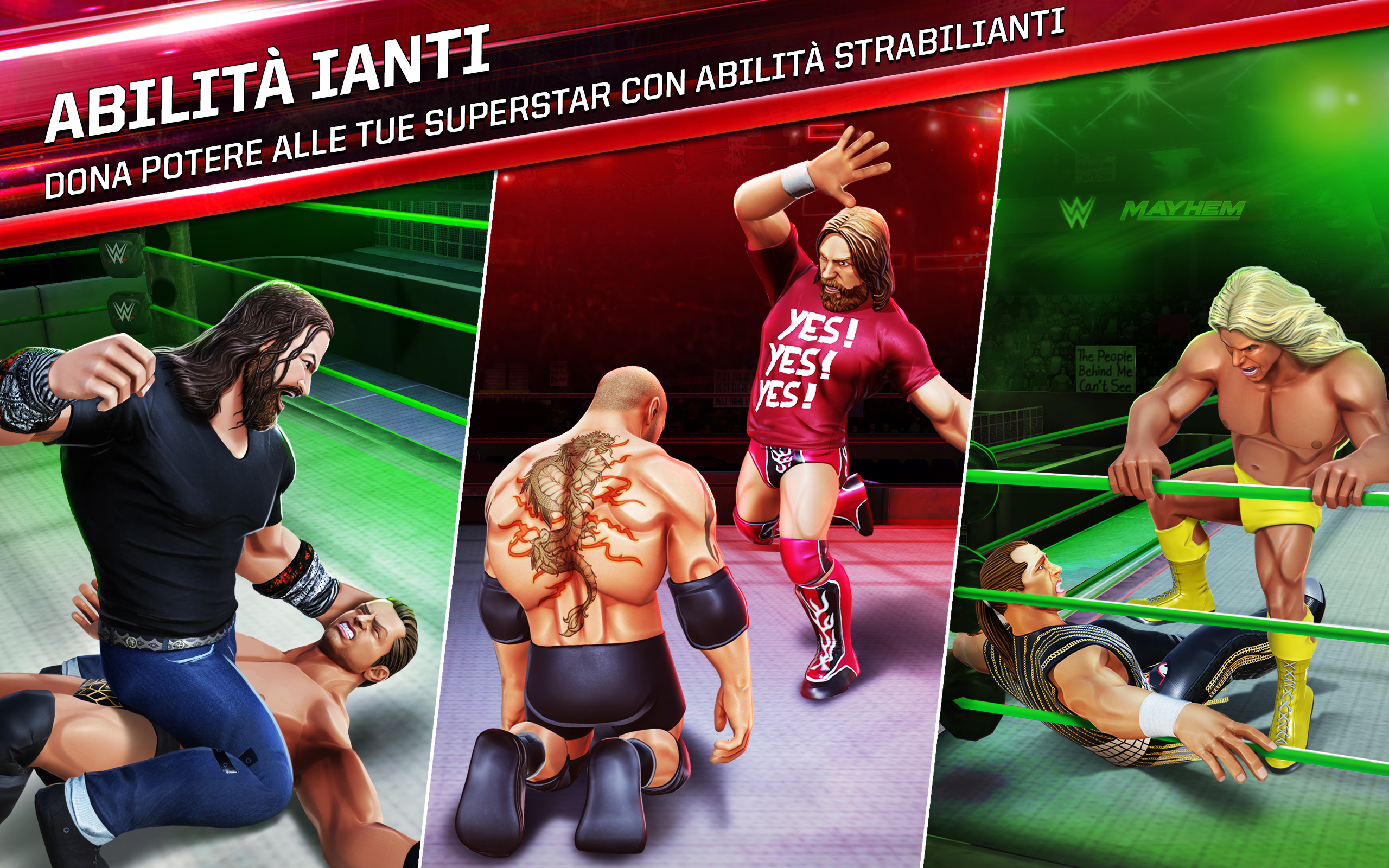 WWE stelle incontri 2012
