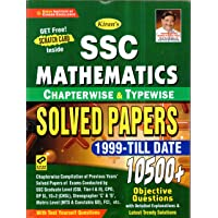 Kiran SSC Mathematics Chapterwise & Typewise Solved Papers 1999 Till Date 9500+ Objective Questions For SSC CGL Tier I & II, SSC CHSL, SSC Stenographer, FCI, Delhi Police, SSC CPO, Etc. English